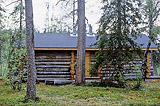 Karhuoja open and reservable wilderness hut. Photo: Sulo Norberg
