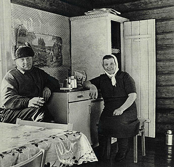 The owners of Latvavaara in 1960s. Photo: Suomen peura / Martti Montonen