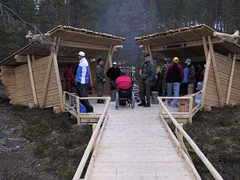 Kellarilampi Nature Trail has facilities for the disabled. Photo: Metsähallitus/ Hannu Lehtonen