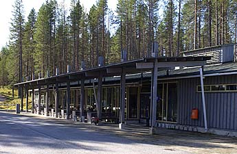 Kylmäluoma Outdoor Centre Reception Building. Photo: Metsähallitus