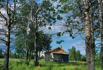 The restored main building of Rytivaara Crown tenant farm. Photo: Jorma Luhta
