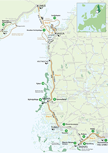 """Finnish World Heritage Sites"" Touring Route"