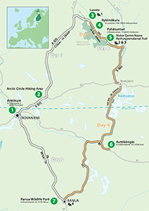 """Accessible Wilderness"" Touring Route"
