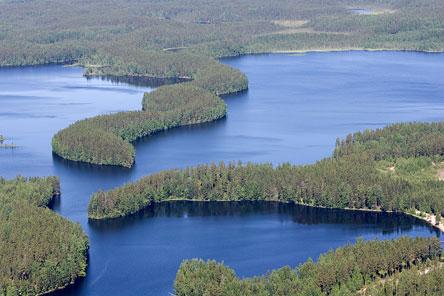 Lake Rutajärvi. Photo: Markku Könkkölä