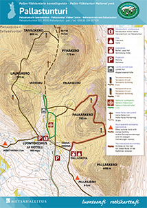 Pallas Yllastunturi National Park Trails Nationalparks Fi