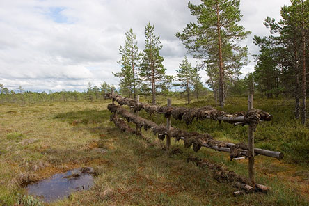 History of peat digging. Photo: Ari Ahlfors