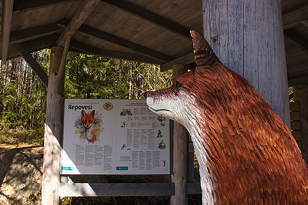orilampi kartta Repovesi National Park Directions and Maps   Nationalparks.fi orilampi kartta