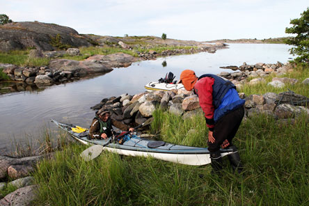The archipelago offers countless route options to canoeists. Photo: Teemu Köppä / The Internet as a virtual destination