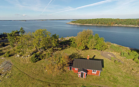 Pilots cottage at Jussarö Island. Photo: Hans-Erik Nyman