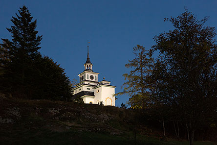 Teijo church was completed in 1830. Photo: Jari Kostet