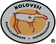 The Emblem of Kolovesi National Park - Rock painting at Vierunvuori Cliffs