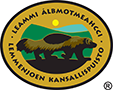 The Emblem of Lemmenjoki National Park - Wolverine