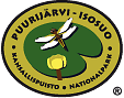 The Emblem of Puurijärvi and Isosuo National Park - Yellow Water-lily and Four-spotted Chaser