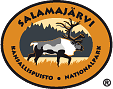 The Emblem of Salamajärvi National Park - Wild Forest Reindeer.