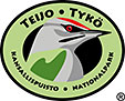 The Emblem of Teijo National Park - Grey-headed woodpecker