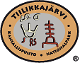 The Emblem of Tiilikkajärvi National Park - Etchings on the Täyssinä peace treaty border stone.