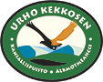 The emblem of Urho Kekkonen national park - Golden Eagle