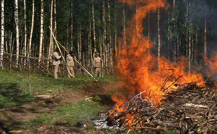 Slash-and-burn burns. Photo: Tapani Pirinen