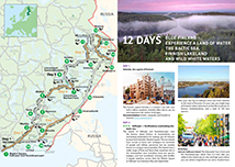 Repovesi National Park Directions And Maps Nationalparks Fi