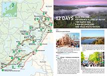 Ruunaa Hiking Area Directions And Maps Nationalparks Fi