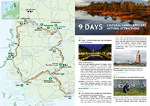Helvetinjarvi National Park Directions And Maps Nationalparks Fi
