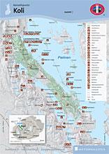 Koli National Park Directions And Maps Nationalparks Fi