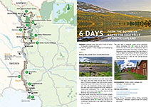 "Self-guided Tour: ""From the Bothnian Bay to the High Fells of Arctic Lapland"""
