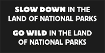 Slow down in the Land of National Parks