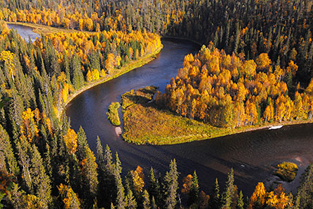 River scenery in Oulanka National Park. Photo: Ismo Pekkarinen
