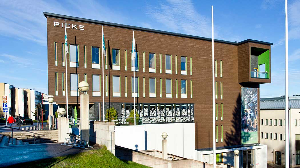 Pilke Science Centre. Photo: Pekka Koski