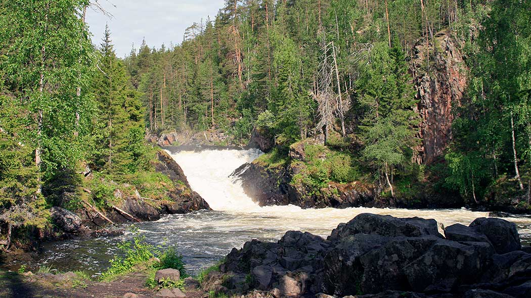 Jyrävä rapids. Photo: Minna Koramo.