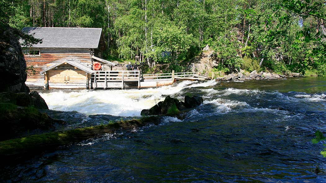 Myllykoski rapids and mill. Photo: Minna Koramo.