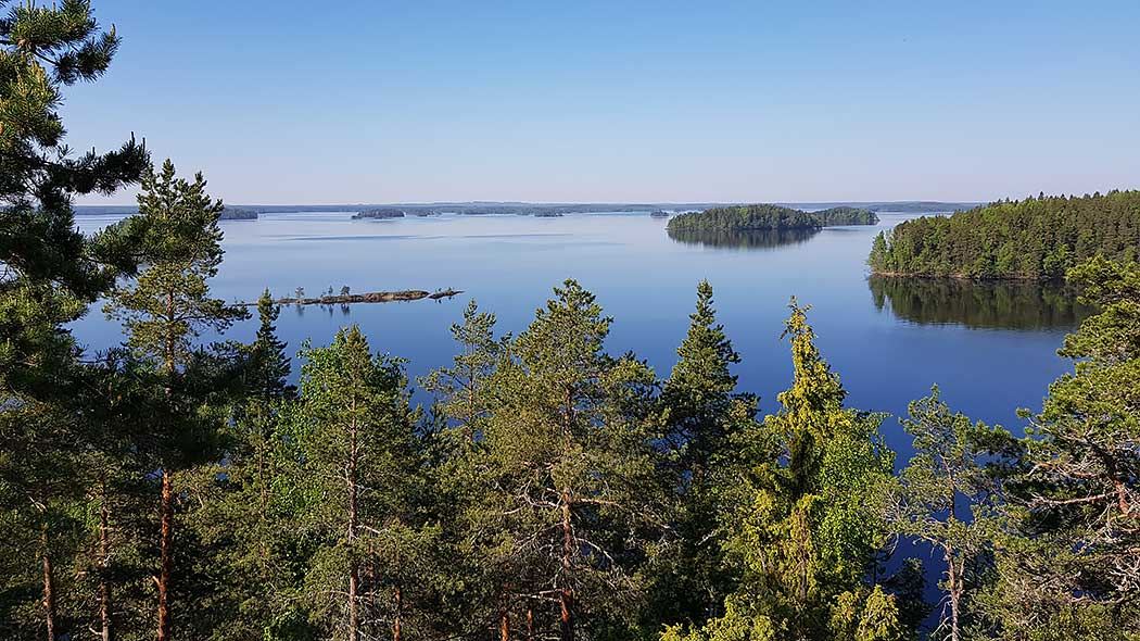 A view from Linnavuori. Photo: Mari Laukkanen