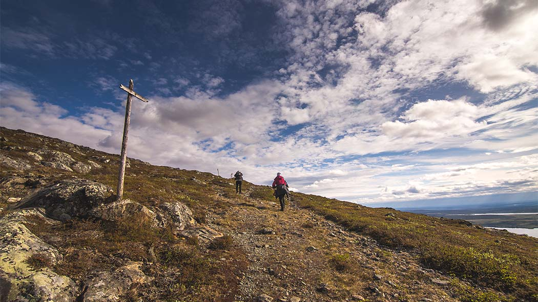 July – August are the peak seasons in Hetta-Pallas Hiking Trail. Photo: Heikki Sulander / Rinkkaputki.com.