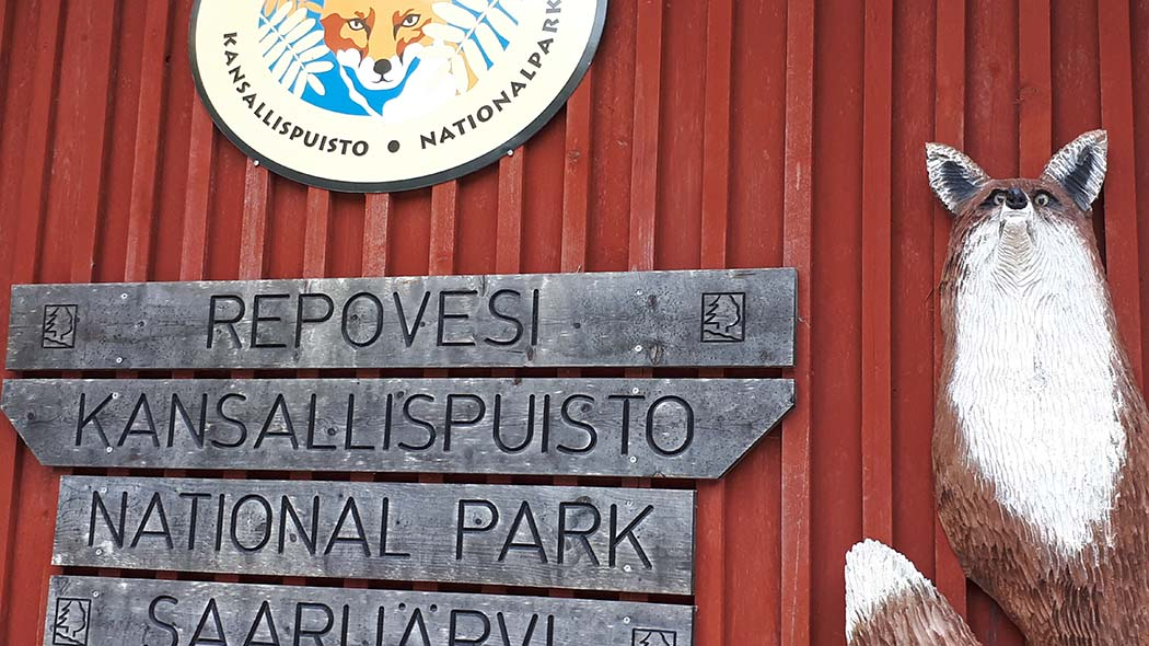 Saarijärvi entrance. Photo: Maarit Partanen