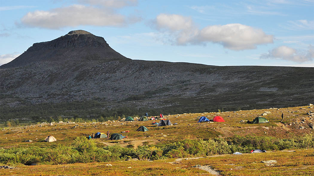 Camping near the holy Saivaara Fell. Photo: Seija Olkkonen.