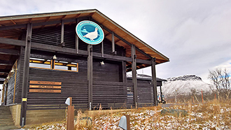 Kilpisjärvi Visitor Centre. Photo: Timo Karinen