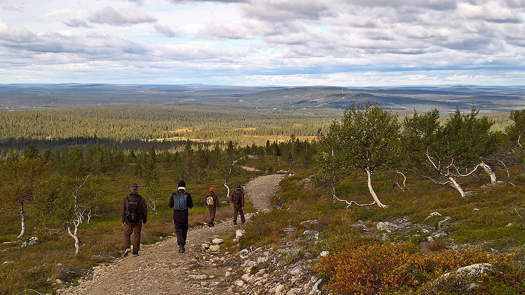 A trip to Pyhäkero Fell is a good option for a day trip. Photo: Maarit Kyöstilä.
