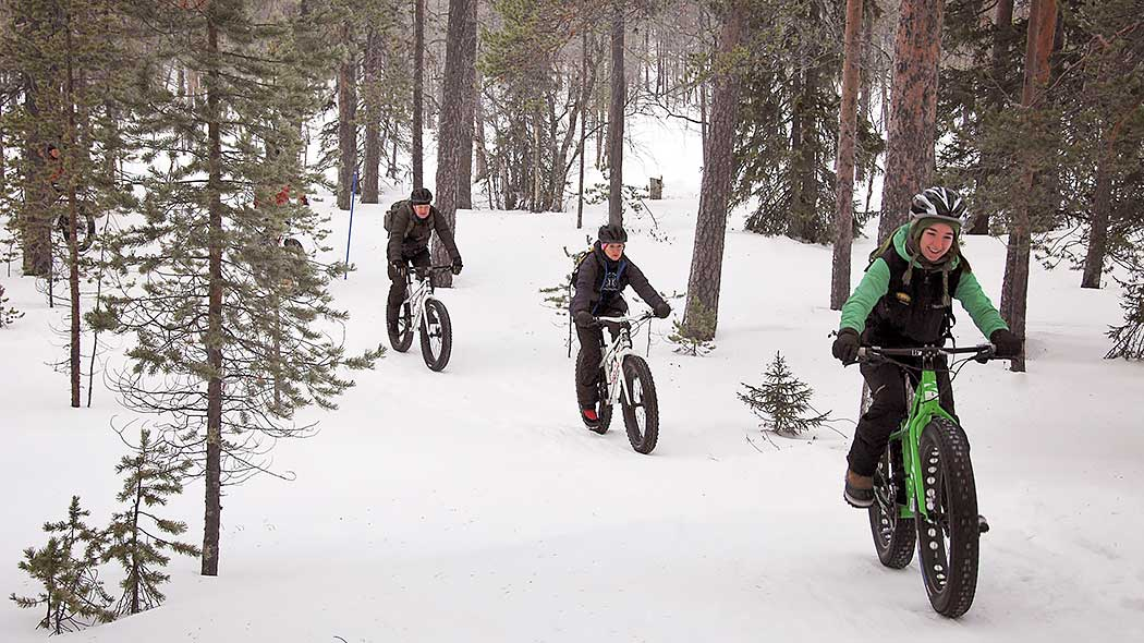 Biking in Winter. Photo: Tytti Tuominen