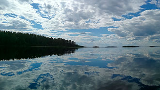 Punkaharju is situated in the middle of the Lake Saimaa. Photo: Jussi-Pekka Manner