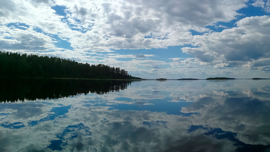 Punkaharju is situated in the middle of the Lake Saimaa. Photo: Jussi-Pekka Manner.