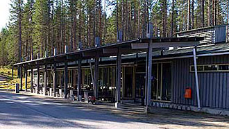 The Kylmäluoma Outdoor Centre. Photo: Metsähallitus