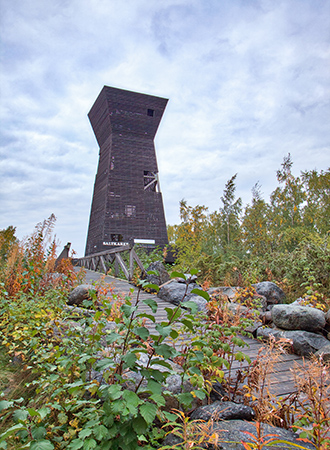 Saltkaret-observation tower. Photo: Fabiola de Graaf.
