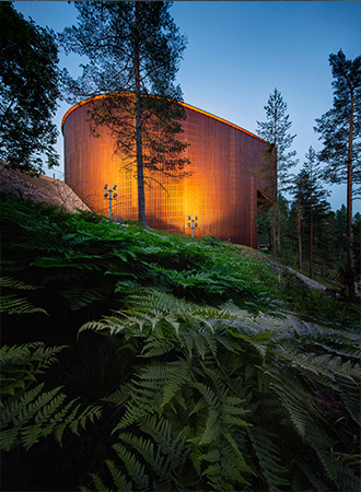 Haltia - The Finnish Nature Centre in Nuuksio, Espoo. Photo: Mika Huisman