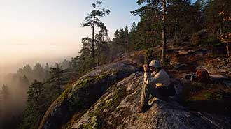 Nuuksio National Park. Photo: Mauri Leivo.