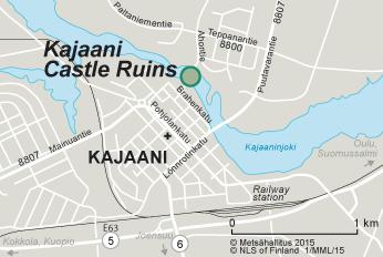 Visit the Kajaani Castle Ruins Nationalparksfi